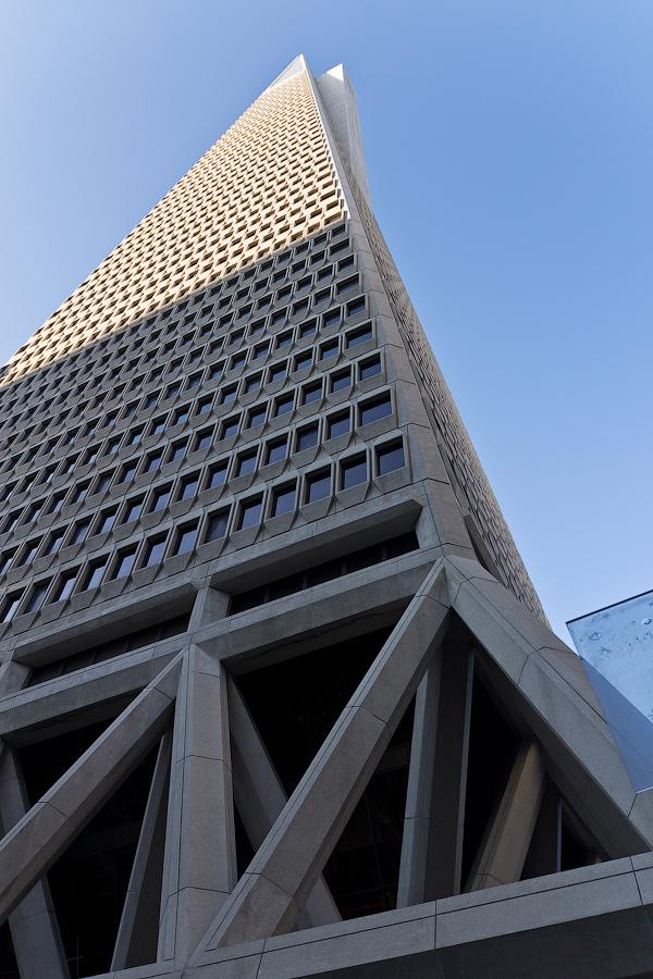 LEED Platinum TransAmerica Pyramid in San Francisco, CA
