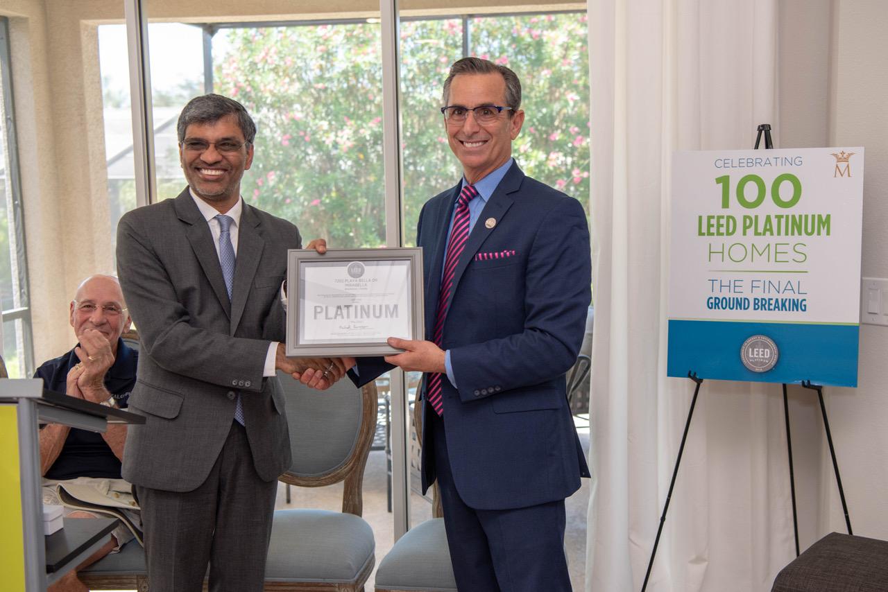 Mirabella achieves 100 LEED Platinum homes
