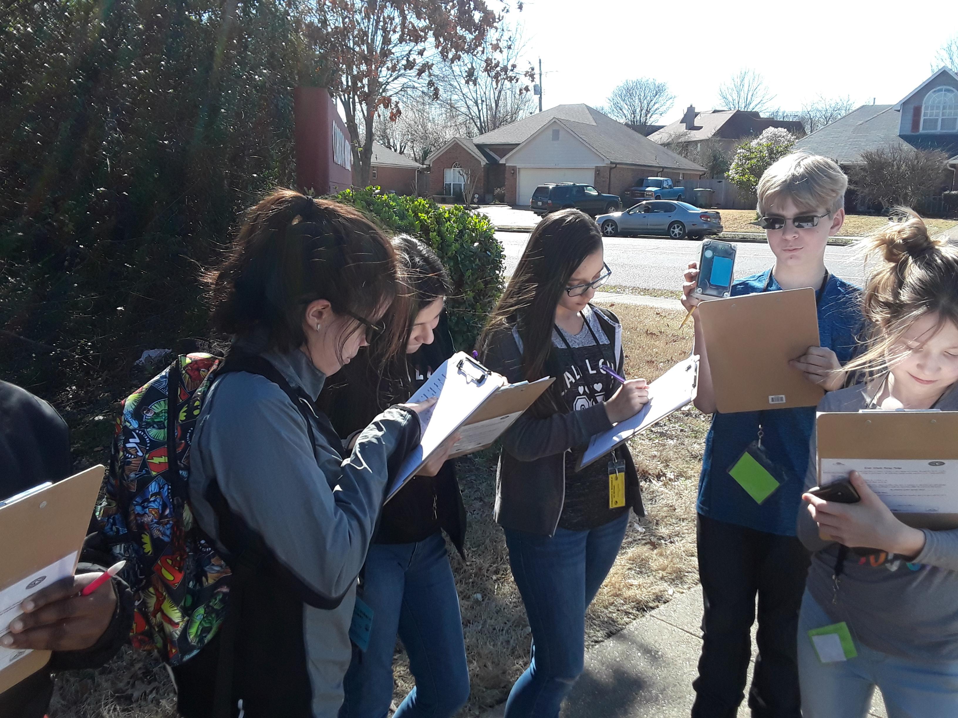 Cordova Middle School Green Apple Day of Service