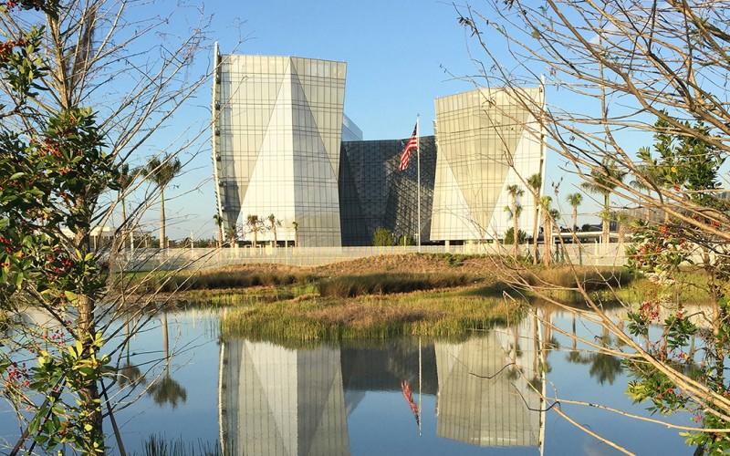 Federal building in Miramar, Florida