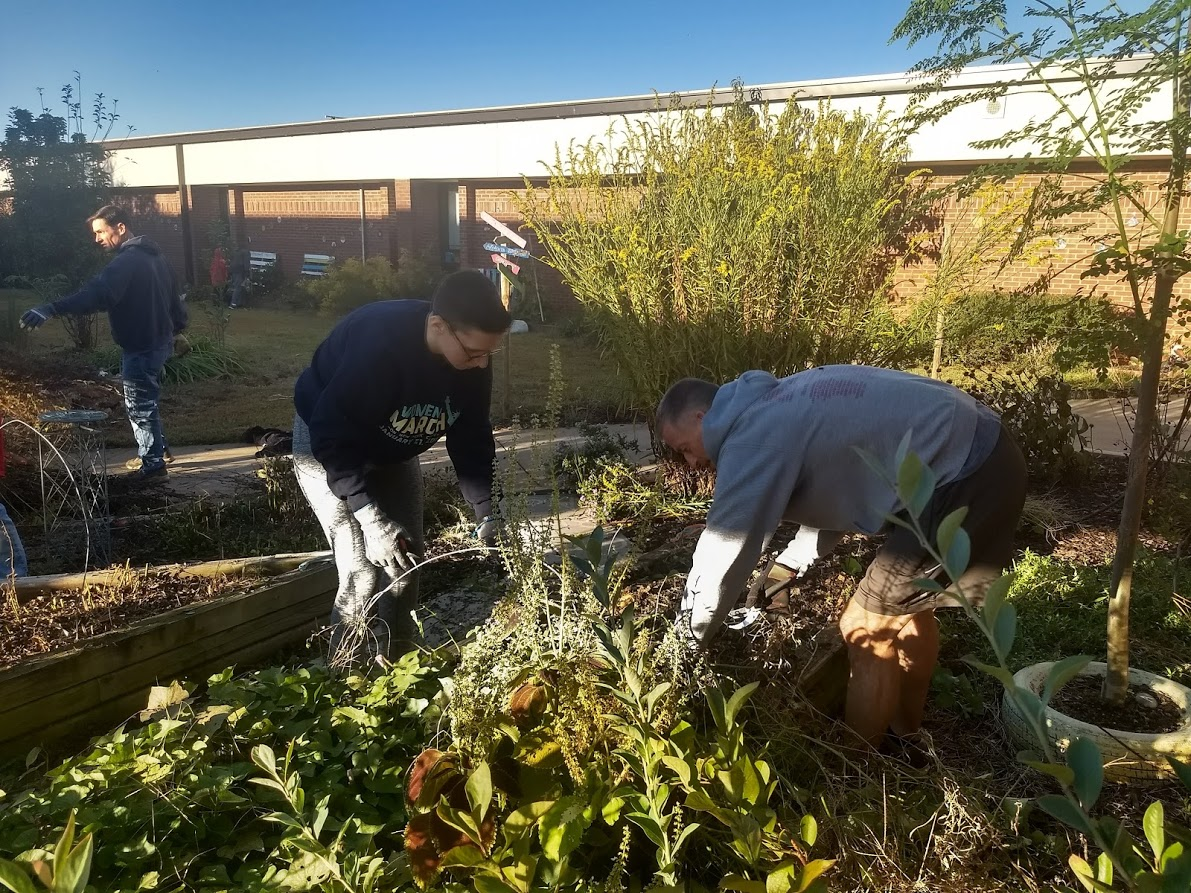 Green Apple Day of Service at Pharr Elementary