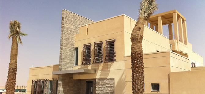 KAPSARC Villa B-19 in Riyadh, Saudi Arabi by SK Engineering & Construction