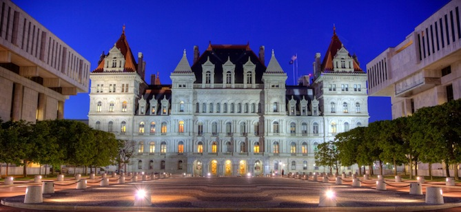 The New York State Capitol in Albany. Credit: iStockphoto