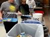 Composting volunteer activity