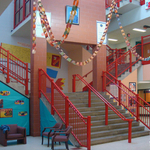 Thurgood Marshall always showcases student artwork around the building.