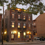 In 2004, Schickel Design renovated this 1850s rowhouse into two apartments and a