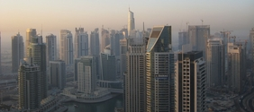 The Dubai skyline. Credit: Jay Tamboli via Flickr