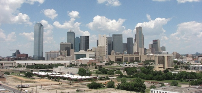 Dallas, home of the LEED Platinum George W. Bush Presidential Center. Credit: Fl