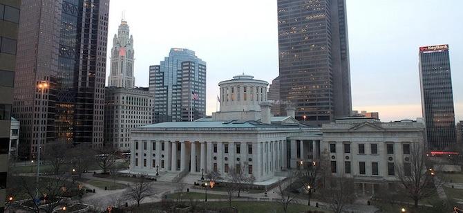 The Statehouse in Columbus, Ohio. Credit: Sam Howzit via Flickr
