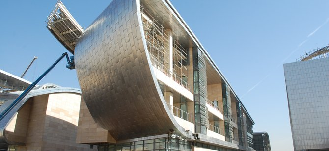 A building on the KAPSARC campus. Photo credit: HOK
