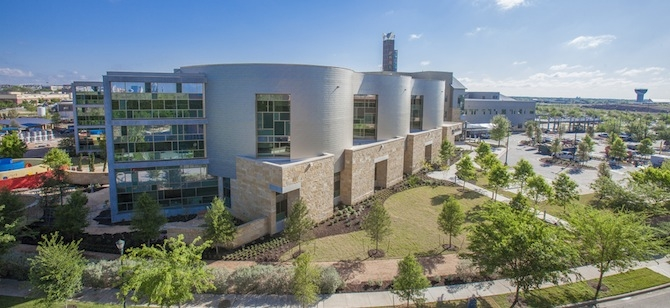 The LEED Platinum South Tower at Dell Children's Medical Center in Austin, Texas