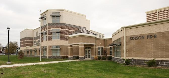 The LEED Gold Edison PK-8 School in Dayton, Ohio.