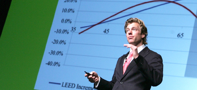 Nils Kok presents at Greenbuild 2011 in Toronto