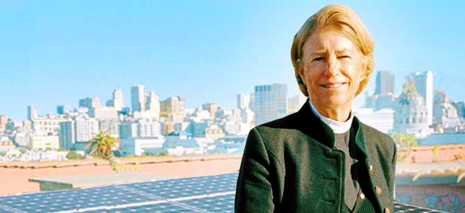 Interfaith Power & Light's The Rev. Sally Bingham
