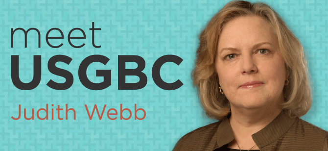 USGBC's SVP of Marketing & Strategy - Judith Webb