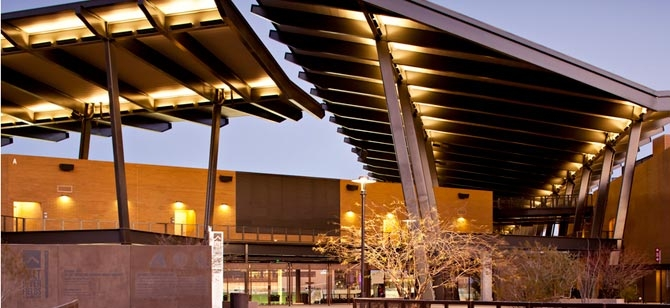 Salt River Fields at Talking Stick | LEED Gold | Photo by Blake Marvin