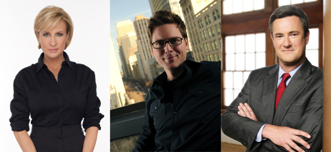 "Greenbuild 2012 speakers: Mika Brzezinski and Joe Scarborough of ""Morning Joe"";"
