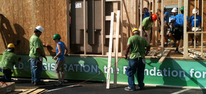 """USGBC's Charlotte Region Chapter worked with partners to build """"Legacy House"""""""