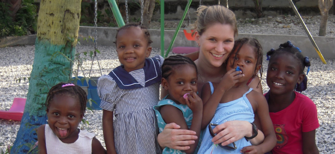 USGBC's Marisa Long in Haiti
