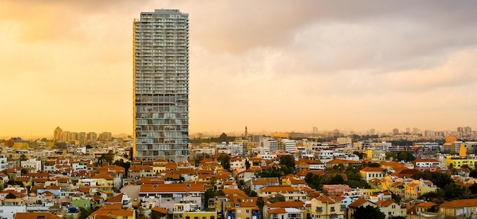 Tel Aviv, host city of the Second Annual Israel Green Building Conference.