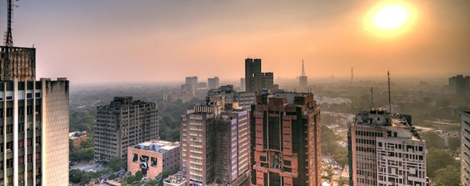 Delhi, India. Credit: Wikimedia Commons