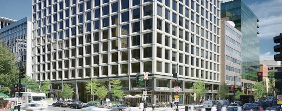 Vornado Realty Trust's LEED Silver 1101 17th St. in Washington, D.C.