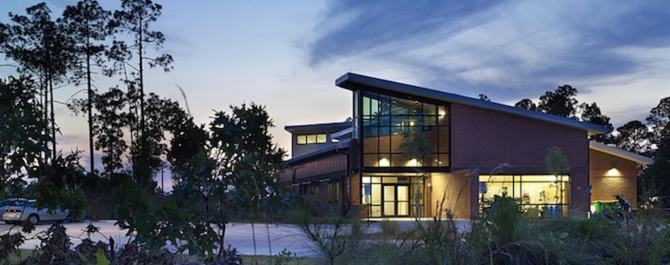 LEED Platinum Community Emergency Services Station. Photo credit: U.S. Army Corp