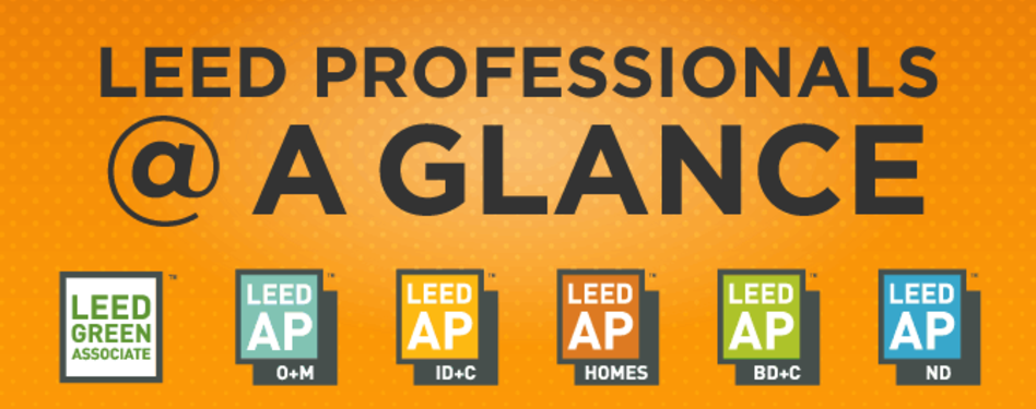 LEED Professionals at a Glance
