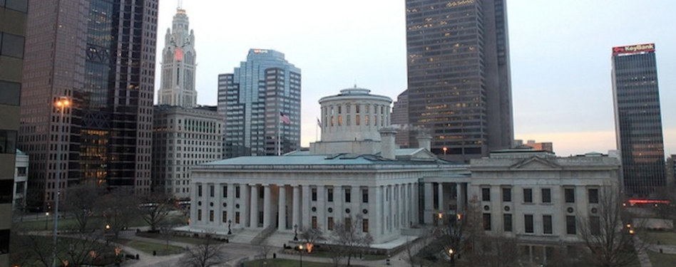 The Statehouse in Columbus, Ohio. Credit: Sam Howzit via Flickr