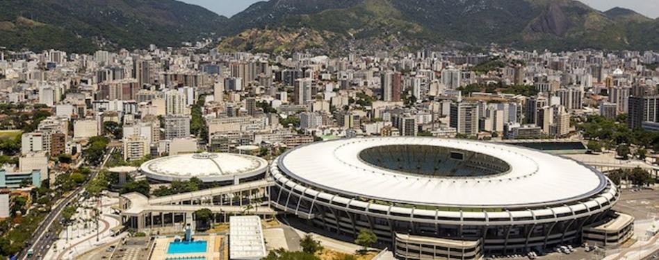 The LEED Silver Maracanã stadium in Rio de Janeiro. Credit: Wikimedia Commons