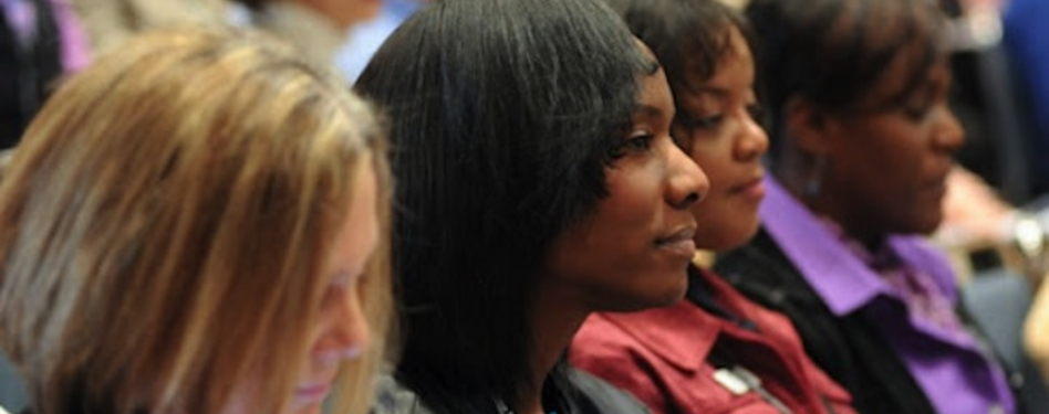 Conference attendees were all ears during presentations at AASA's 2013 national