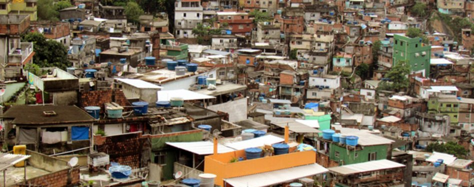 Rocinha Favela, the largest favela in Rio de Janiero. Photo credit: David Berkow