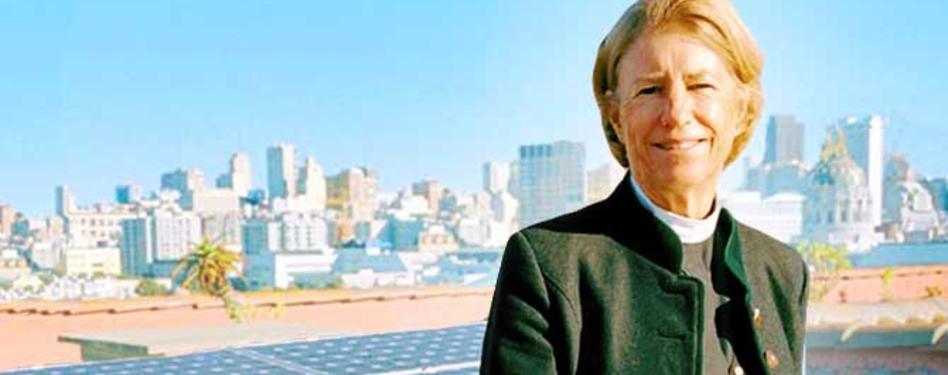 Interfaith Power & Light's The Rev. Sally Bingham