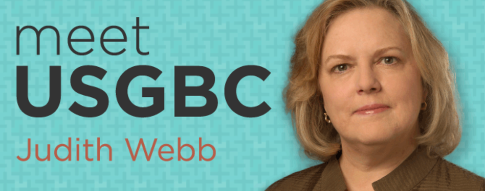 USGBC's SVP of Marketing & Strategy - Judith Webb