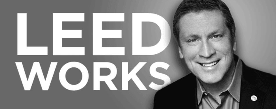 "USGBC President and CEO Rick Fedrizzi boldly states ""LEED works"""