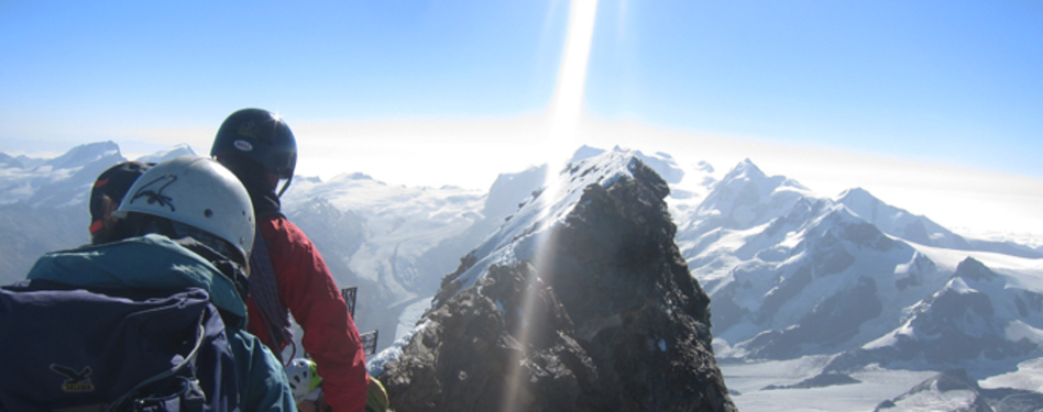 A snapshot of Mark's Matterhorn expedition