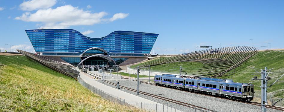 Photo credit: Denver International Airport.