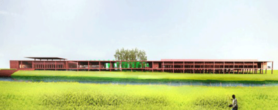 Varanasi silk weaving facility by David Adjaye