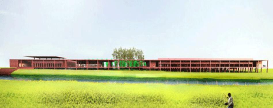 Varanasi silk weaving facility by David Adjaye