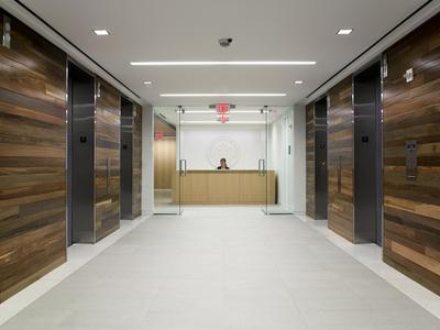 USGBC elevator corridor