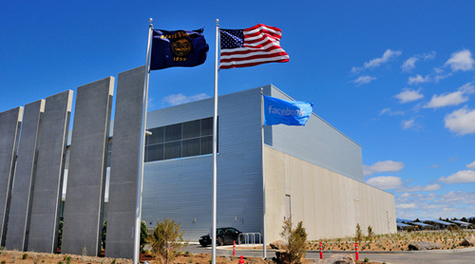 Facebook's LEED-certified data center in Prineville, Ore.