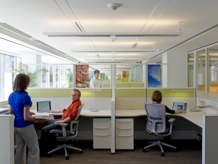USGBC open office environment