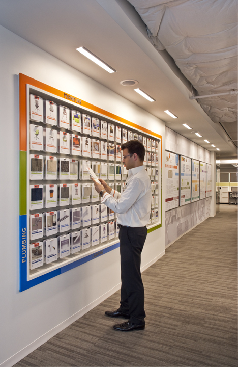 USGBC learning wall