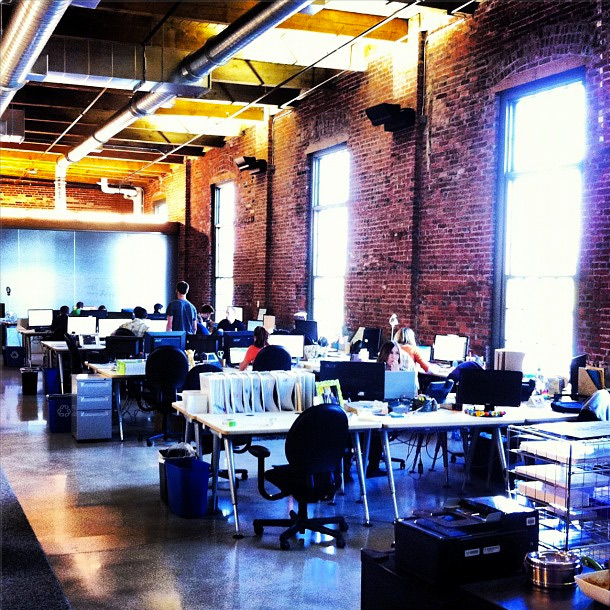 GreenCupboards.com shared a snap of their LEED-certified office space on Instagr