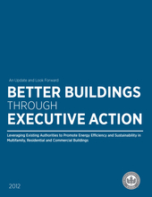 Better Buildings through Executive Action: Report cover