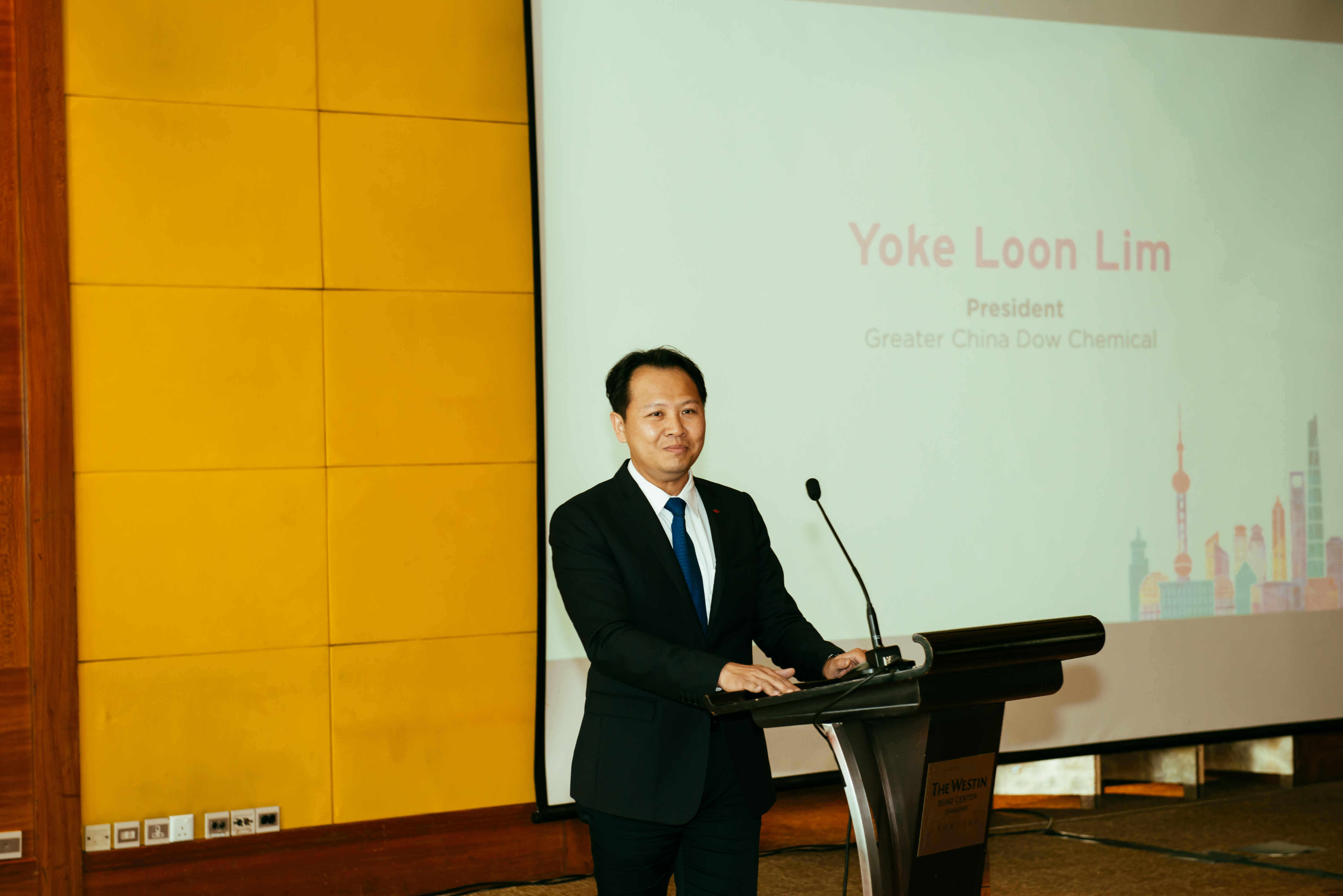 Lim Yoke Loon at the Greenbuild China 2018 Executive Luncheon