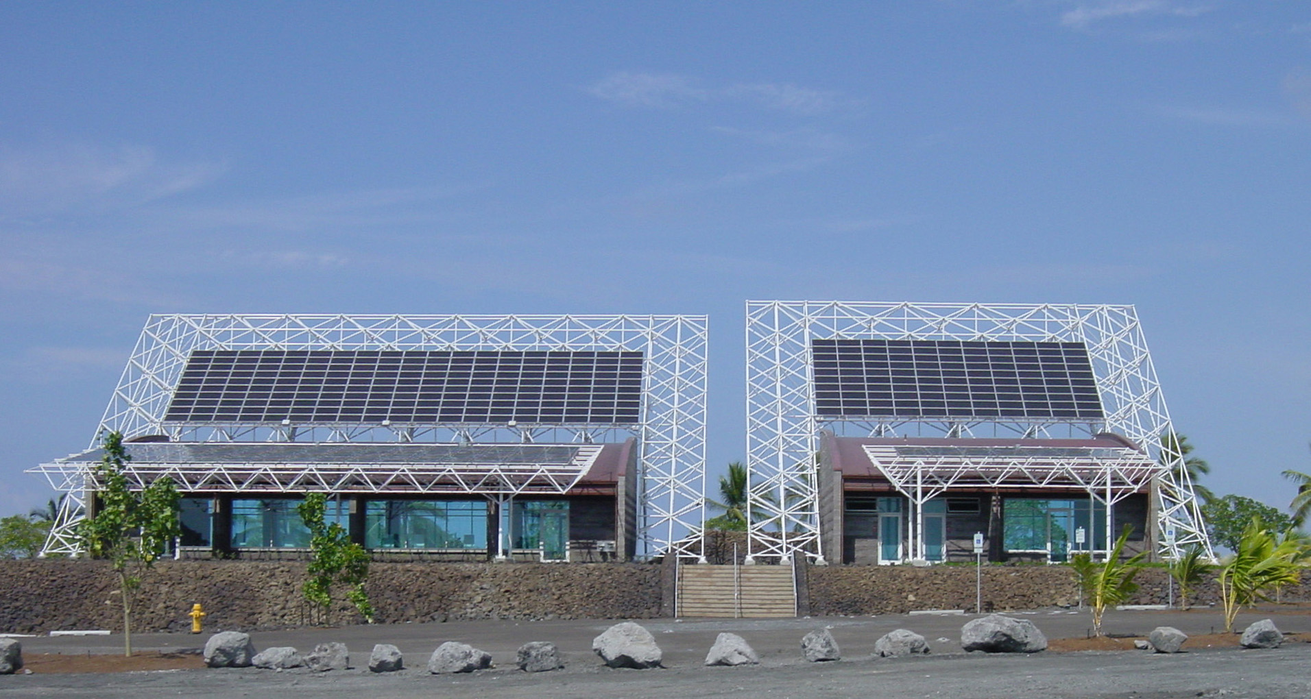 LEED Platinum Hawaii Gateway Energy Center, Kailua-Kona