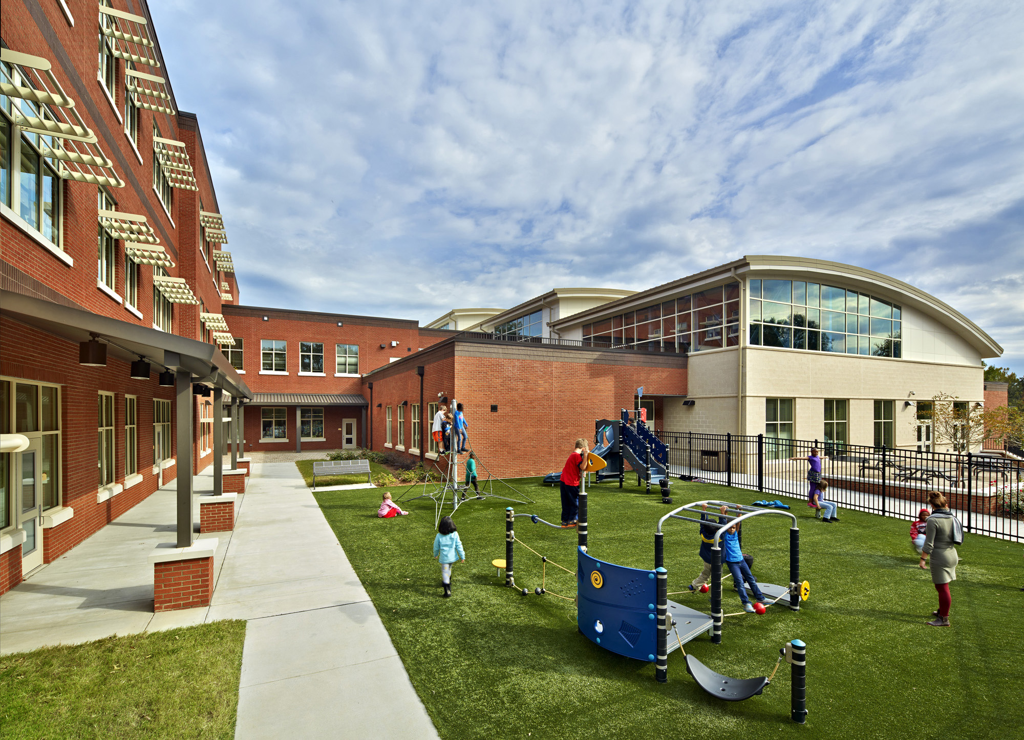 Northside Elementary School is LEED Platinum