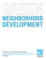 LEED Reference Guide for Green Neighborhood Development