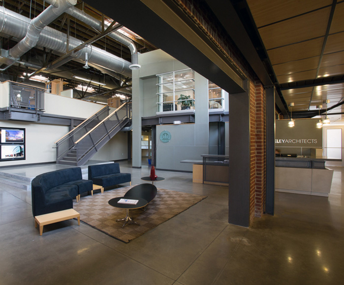Moseley Architects LEED Platinum headquarters